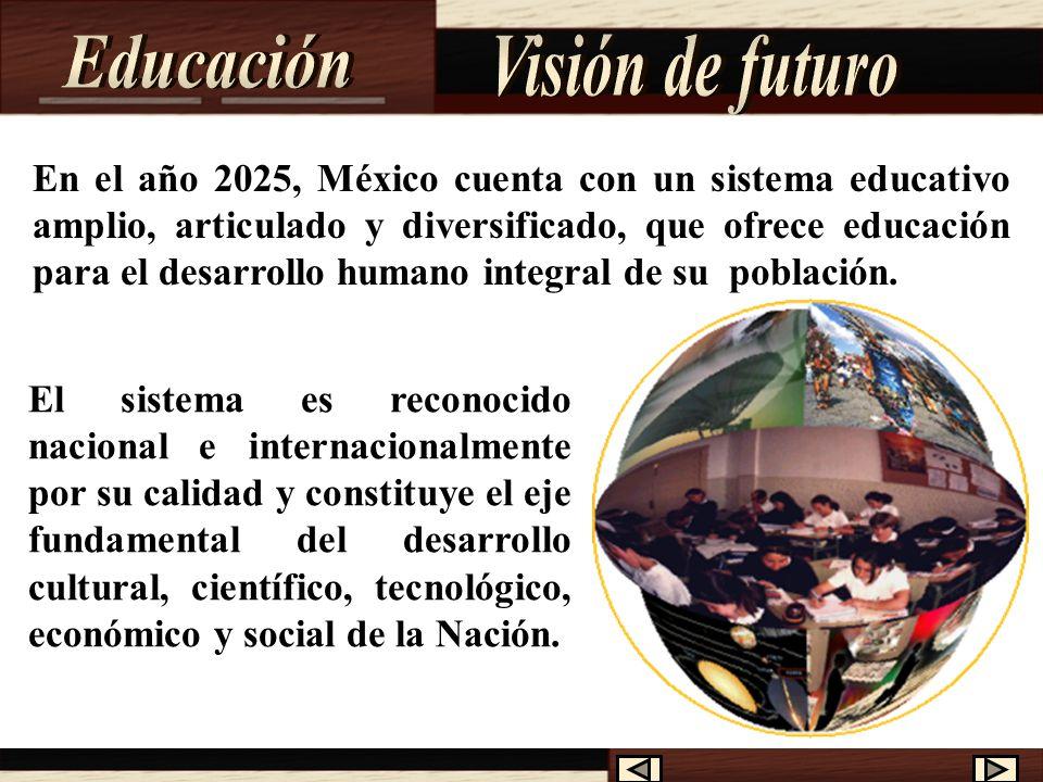 Educación Visión de futuro