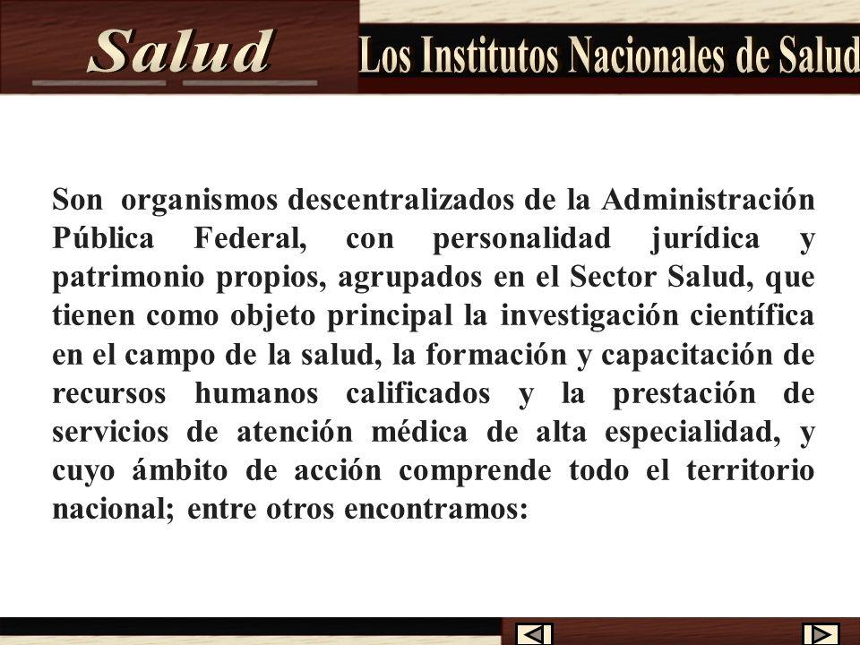 Los Institutos Nacionales de Salud