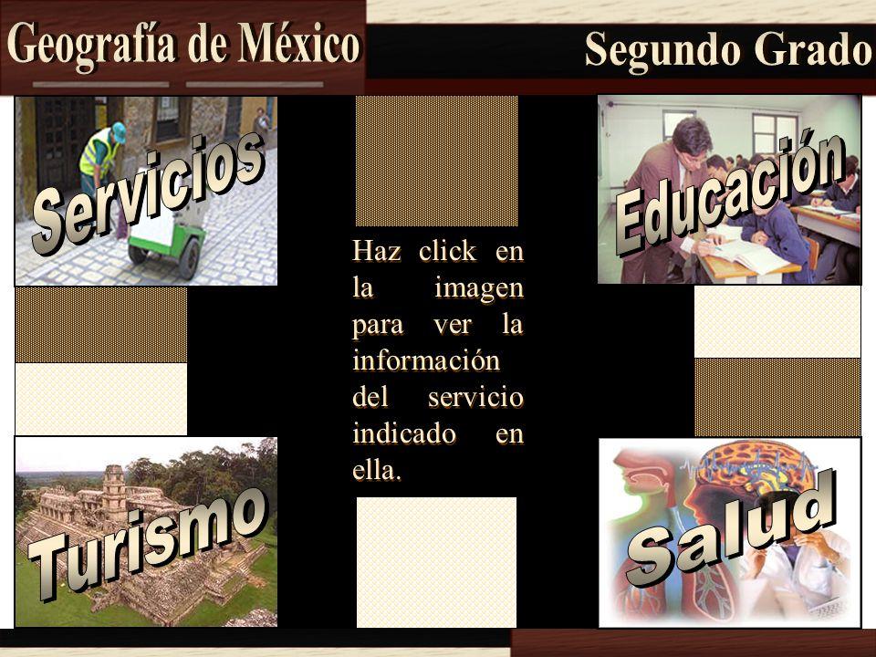 Geografía de México Segundo Grado