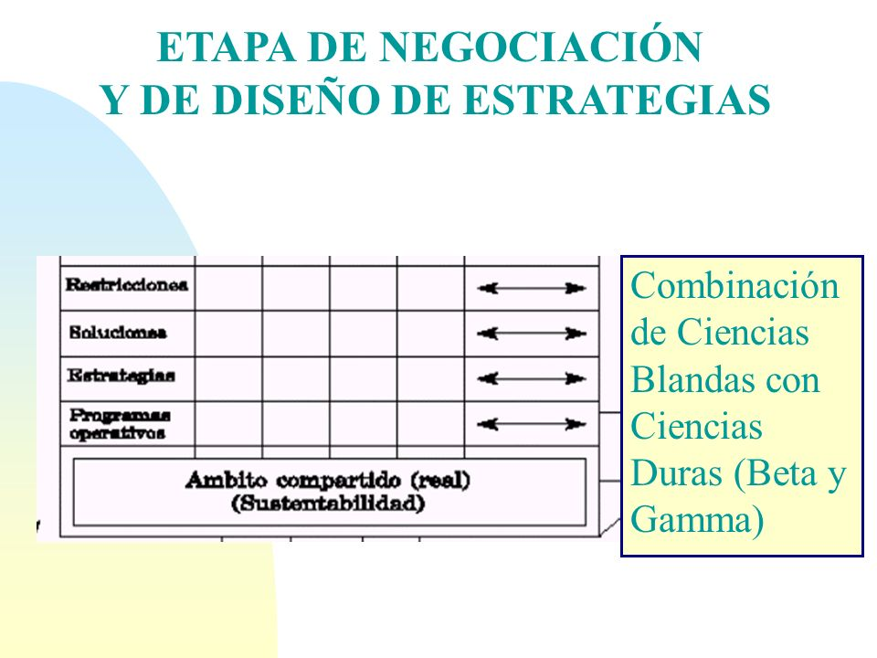 Y DE DISEÑO DE ESTRATEGIAS