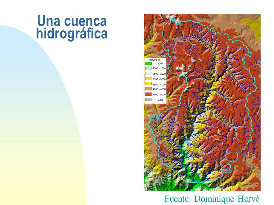 Una cuenca hidrográfica