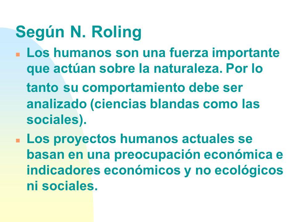 Según N. Roling