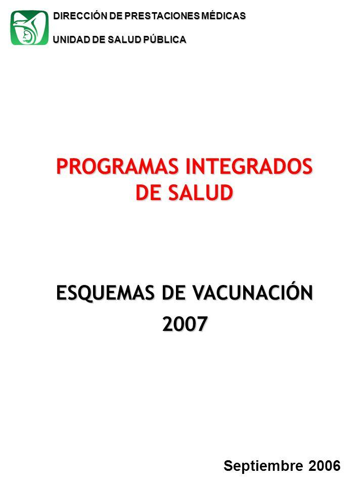 PROGRAMAS INTEGRADOS DE SALUD