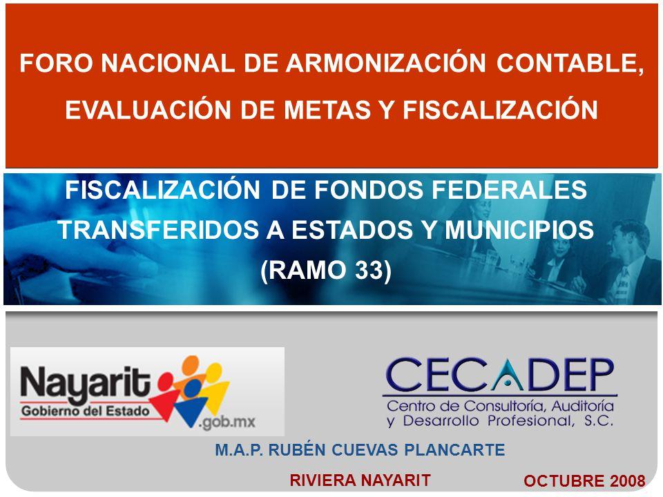 FORO NACIONAL DE ARMONIZACIÓN CONTABLE,