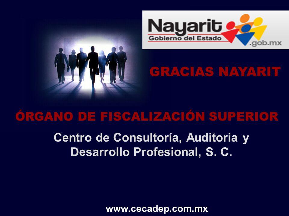 GRACIAS NAYARIT ÓRGANO DE FISCALIZACIÓN SUPERIOR