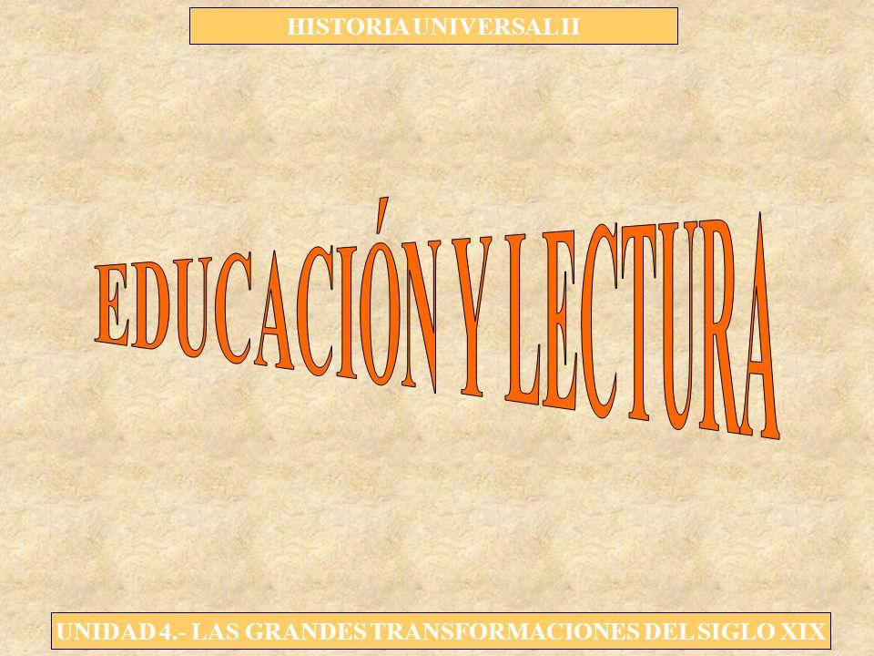 EDUCACIÓN Y LECTURA