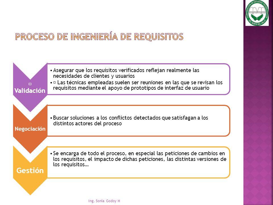 Proceso de ingeniería de requisitos