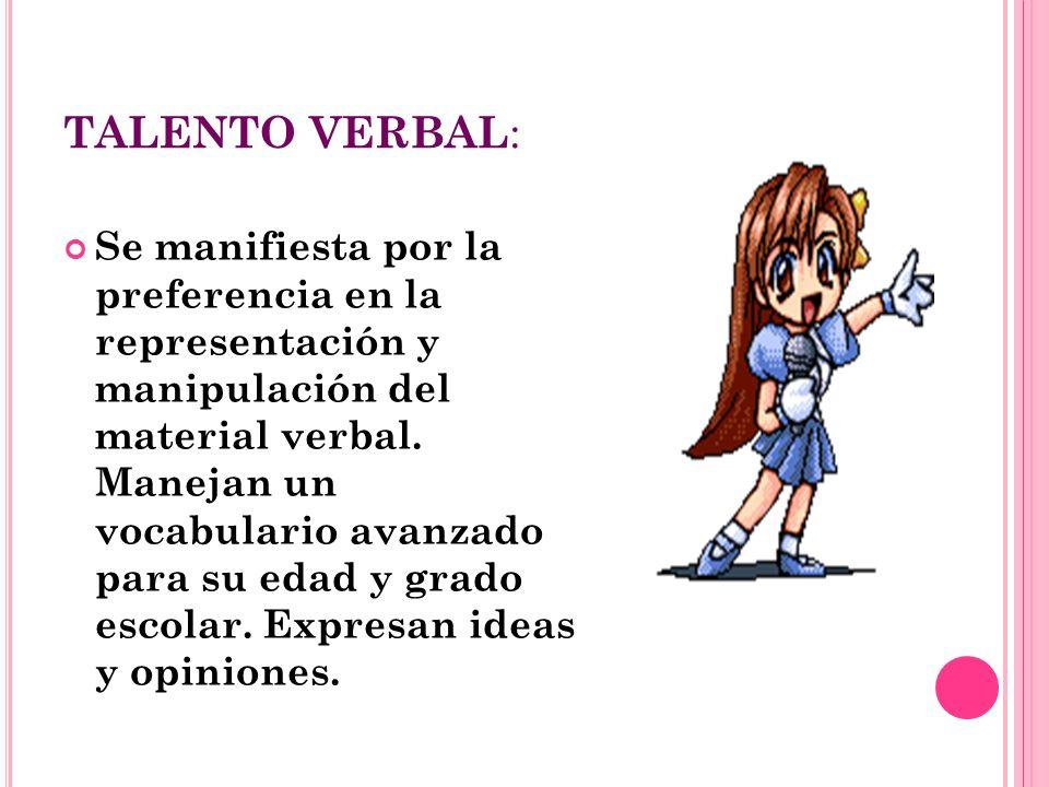 TALENTO VERBAL: