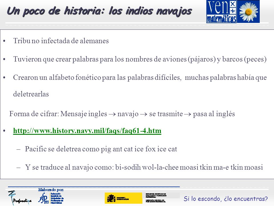Un poco de historia: los indios navajos