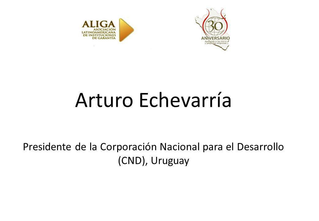 Arturo Echevarría Presidente de la Corporación Nacional para el Desarrollo (CND), Uruguay