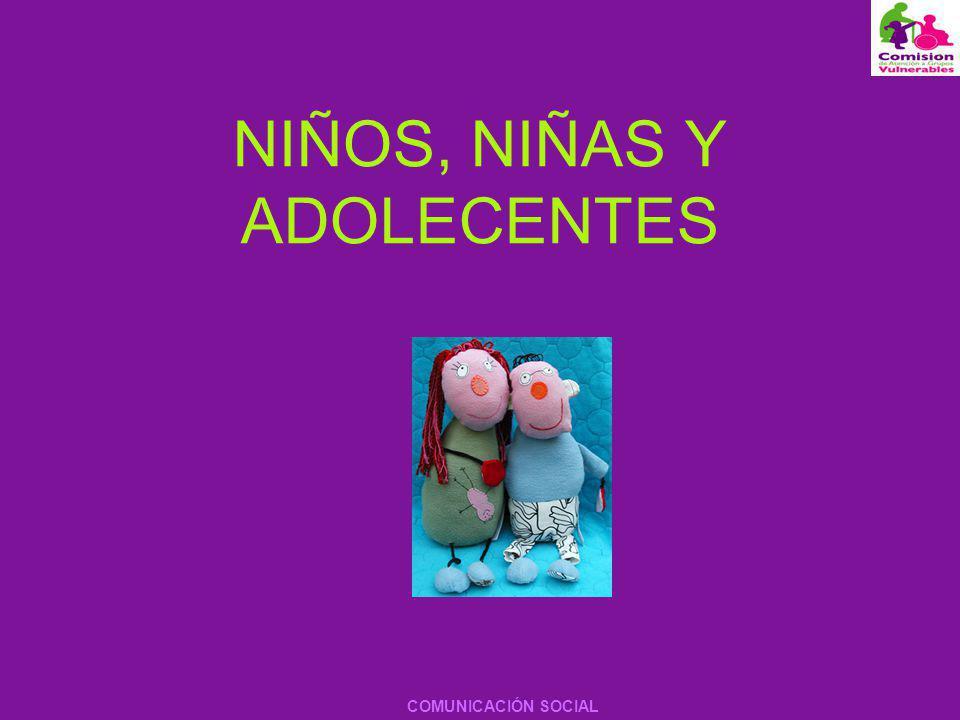 NIÑOS, NIÑAS Y ADOLECENTES