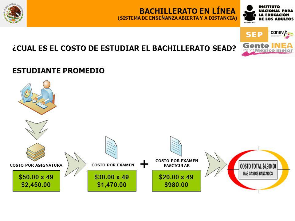 + BACHILLERATO EN LÍNEA