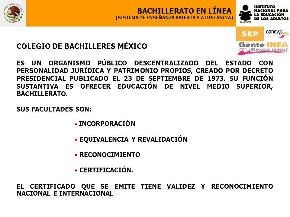 COLEGIO DE BACHILLERES MÉXICO