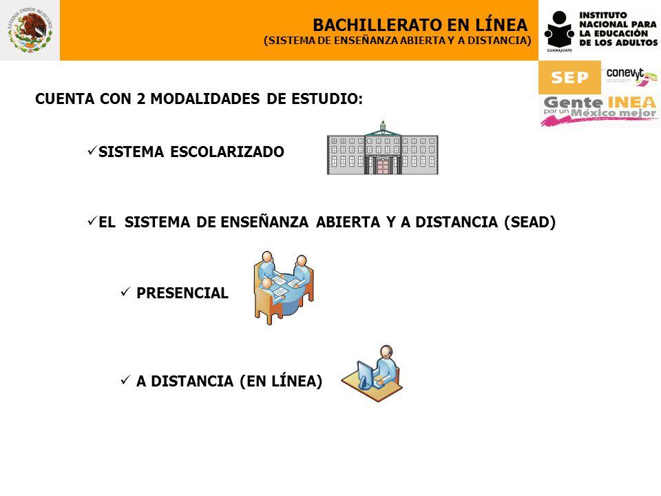 BACHILLERATO EN LÍNEA CUENTA CON 2 MODALIDADES DE ESTUDIO: