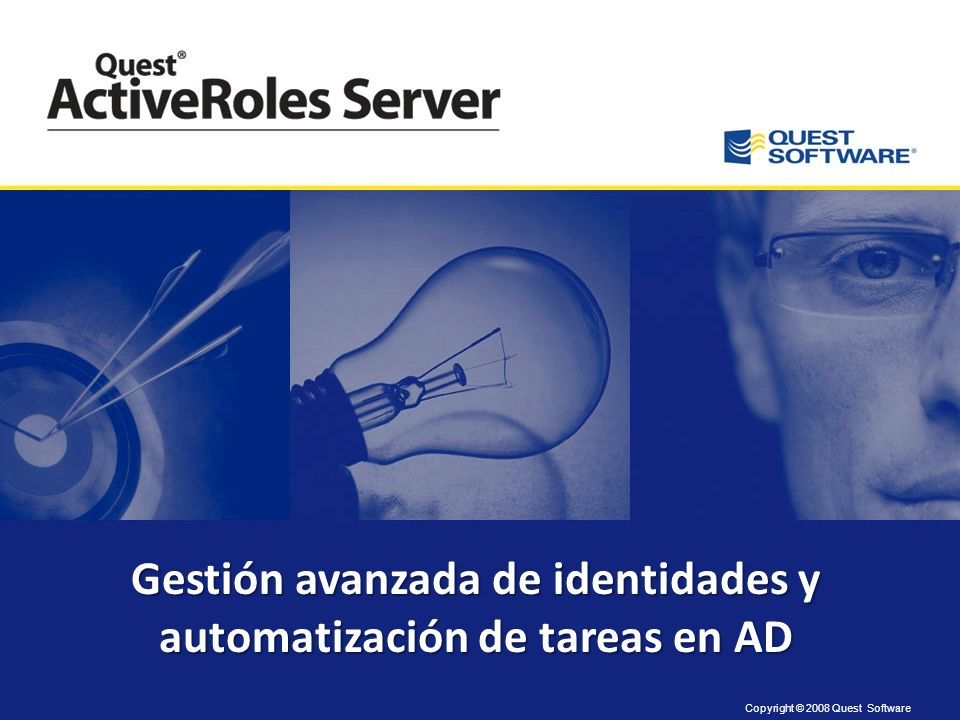 Gestión avanzada de identidades y automatización de tareas en AD