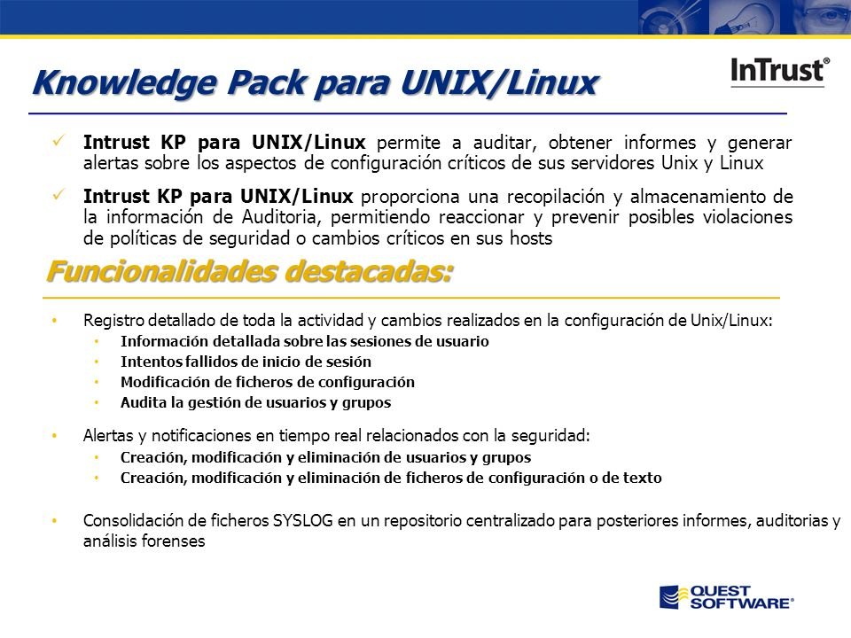 Knowledge Pack para UNIX/Linux