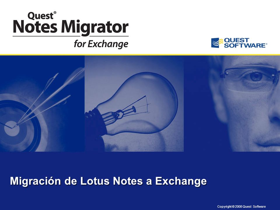 Migración de Lotus Notes a Exchange