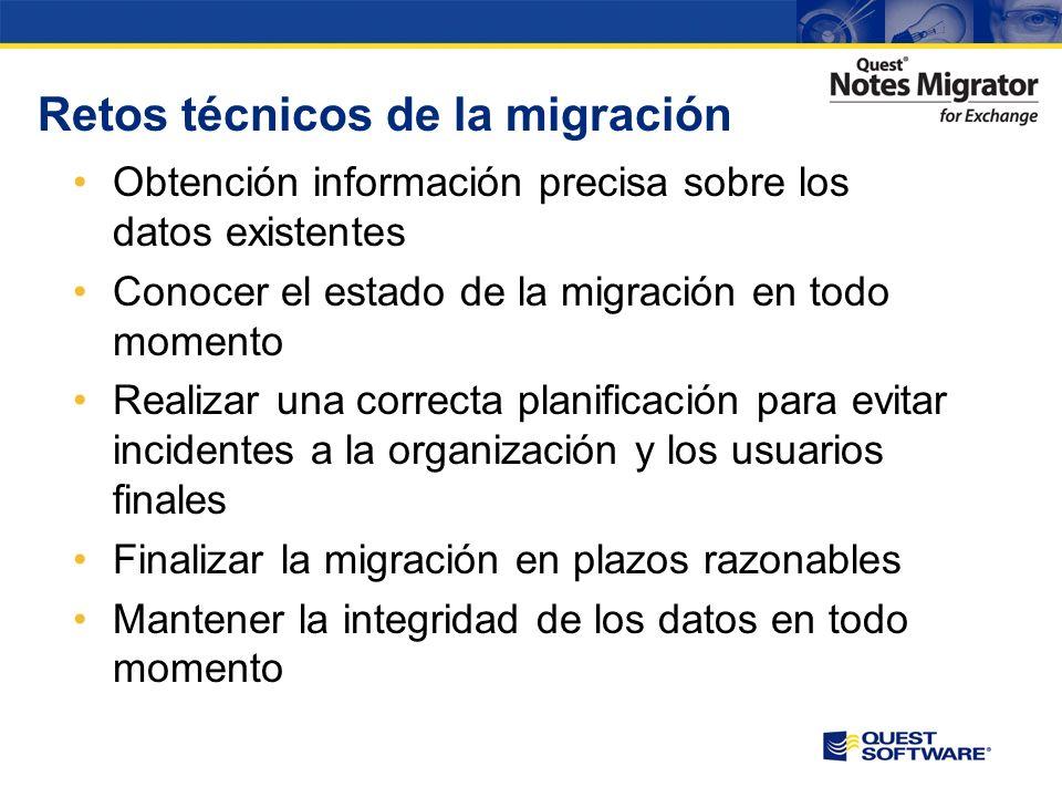 Retos técnicos de la migración