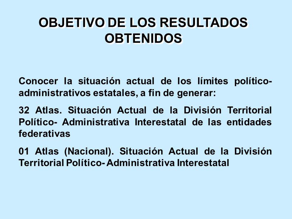 OBJETIVO DE LOS RESULTADOS OBTENIDOS