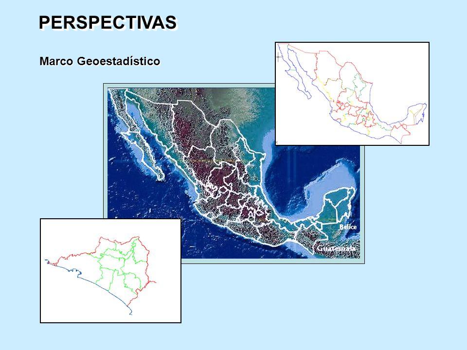 PERSPECTIVAS Marco Geoestadístico