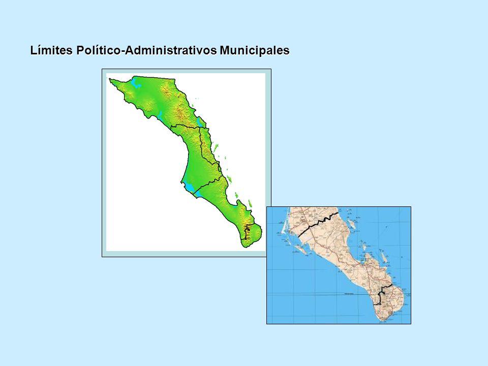 Límites Político-Administrativos Municipales