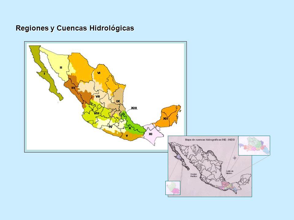 Regiones y Cuencas Hidrológicas