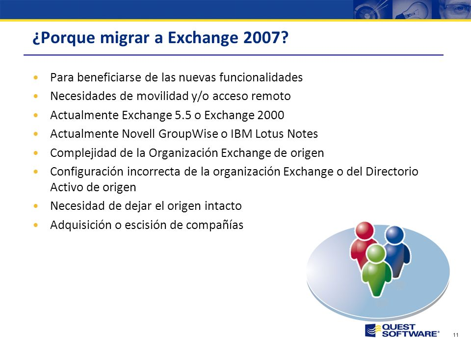 ¿Porque migrar a Exchange 2007