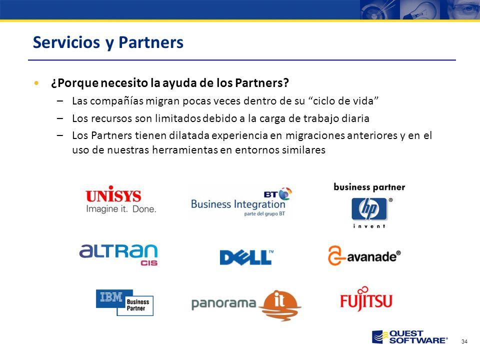 Servicios y Partners ¿Porque necesito la ayuda de los Partners