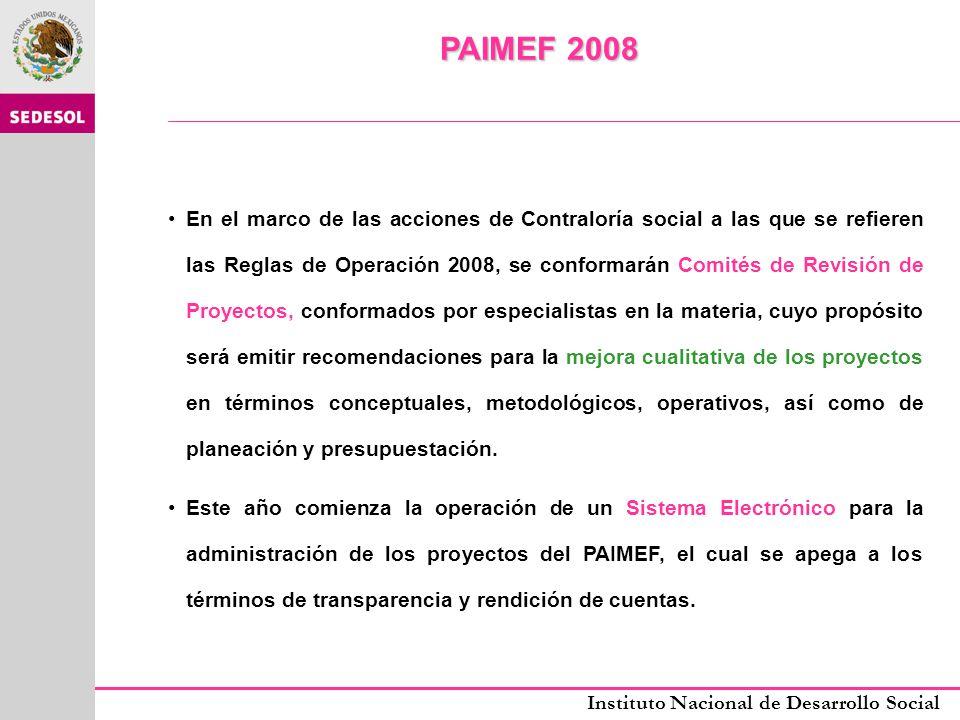 PAIMEF 2008