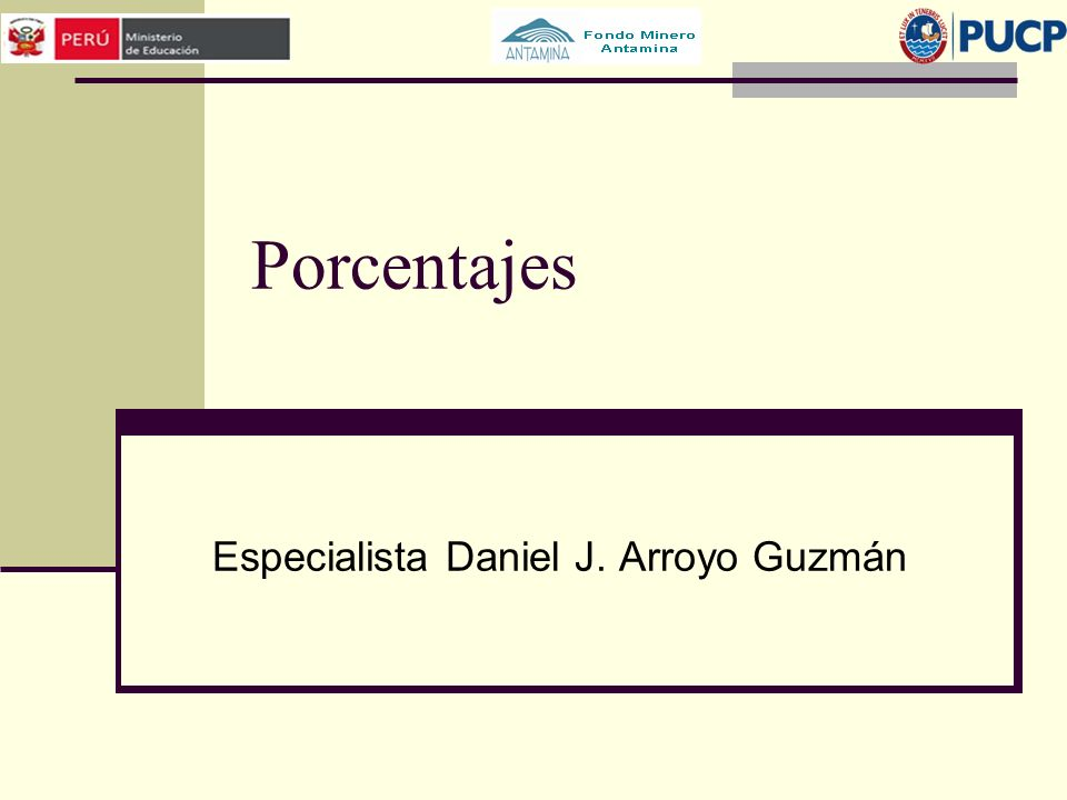 Especialista Daniel J. Arroyo Guzmán