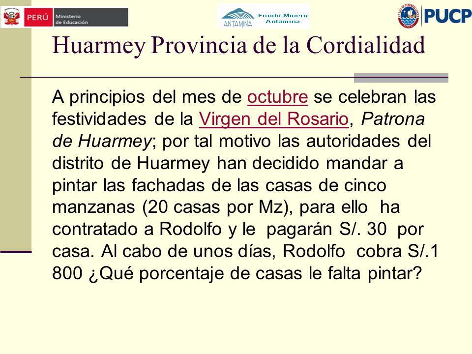 Huarmey Provincia de la Cordialidad