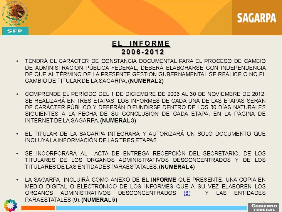 EL INFORME 2006-2012.