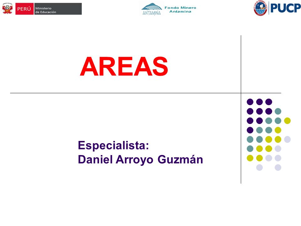 AREAS Especialista: Daniel Arroyo Guzmán