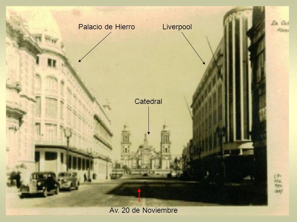 Palacio de Hierro Liverpool Catedral Av. 20 de Noviembre