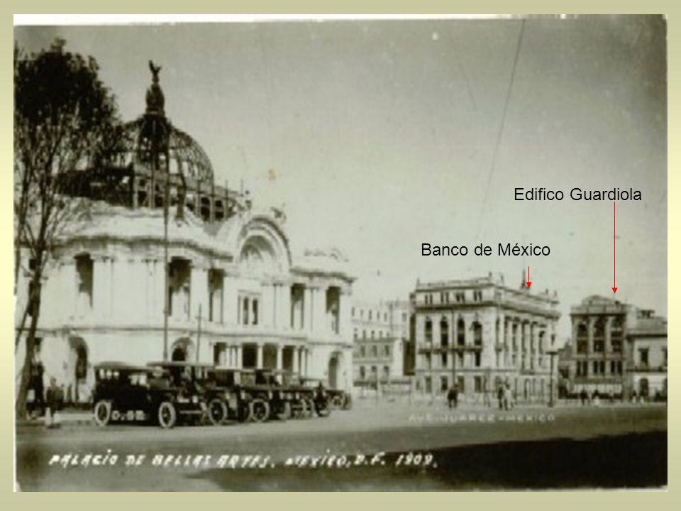 Edifico Guardiola Banco de México