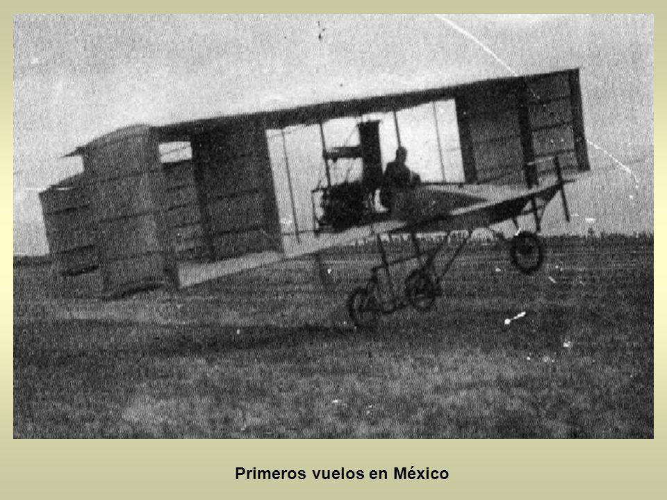 Primeros vuelos en México