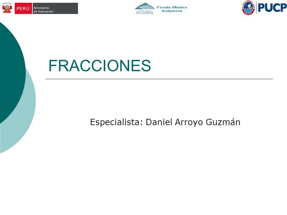 Especialista: Daniel Arroyo Guzmán