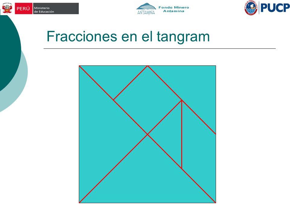Fracciones en el tangram