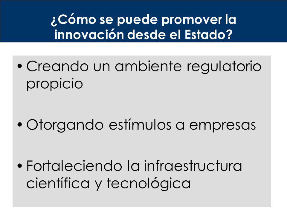 ¿Cómo se puede promover la innovación desde el Estado