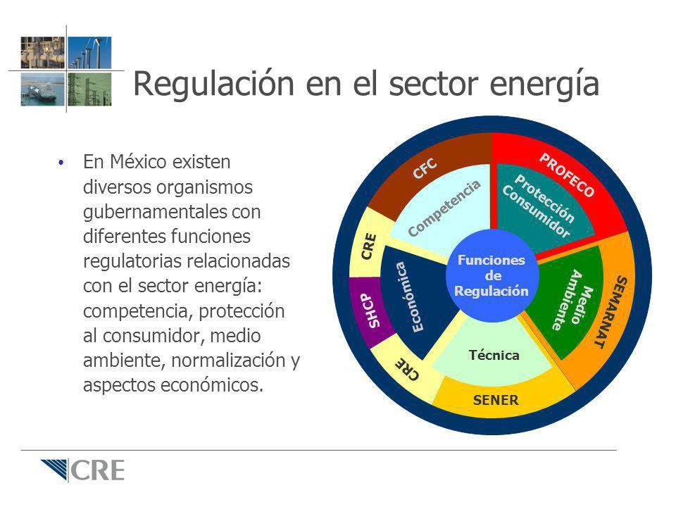 Regulación en el sector energía