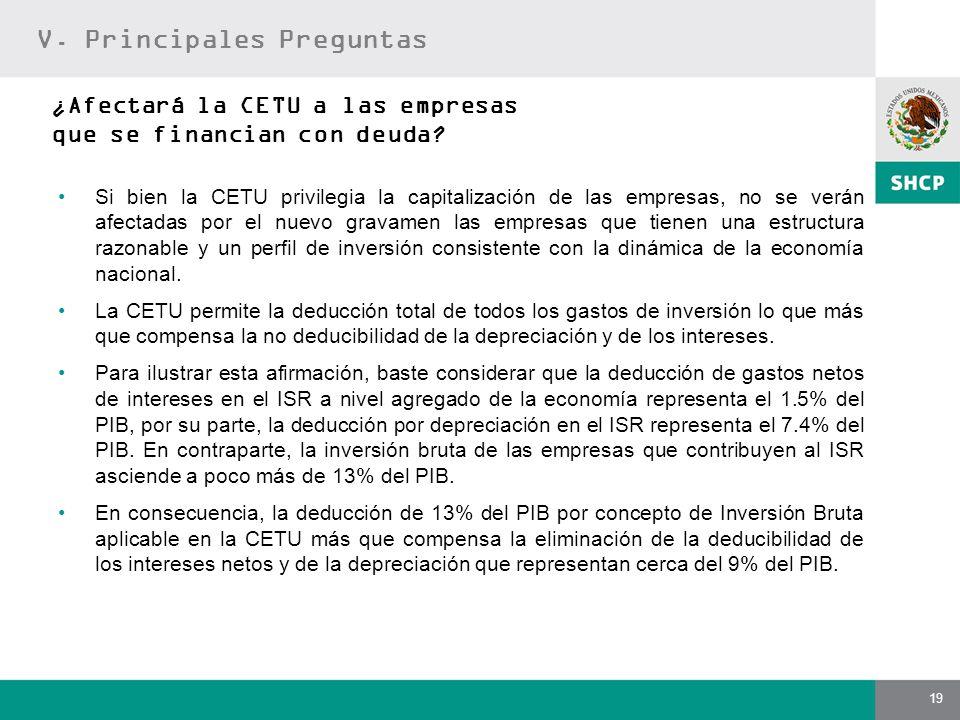 ¿Afectará la CETU a las empresas que se financian con deuda