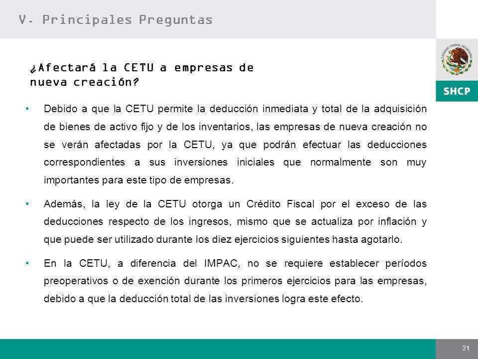 ¿Afectará la CETU a empresas de nueva creación