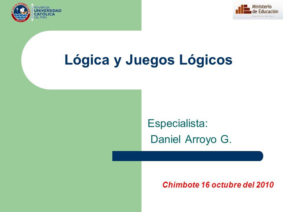 Lógica y Juegos Lógicos