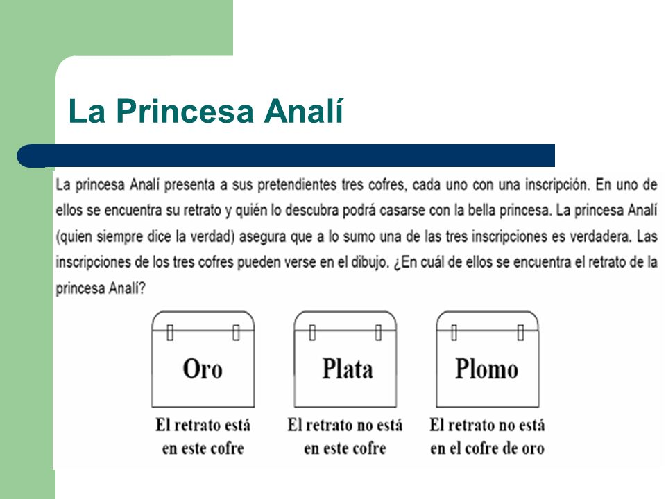 La Princesa Analí