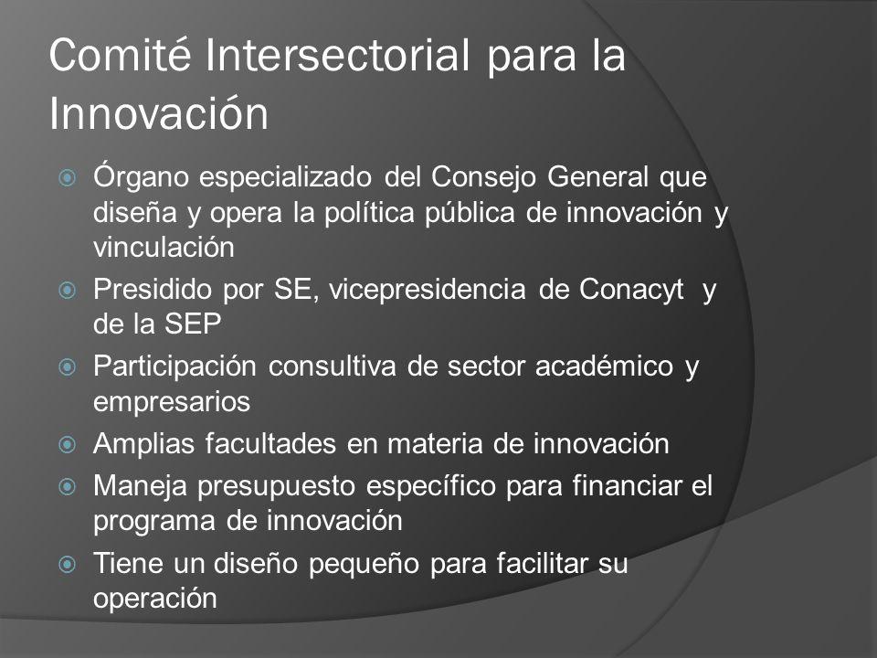 Comité Intersectorial para la Innovación