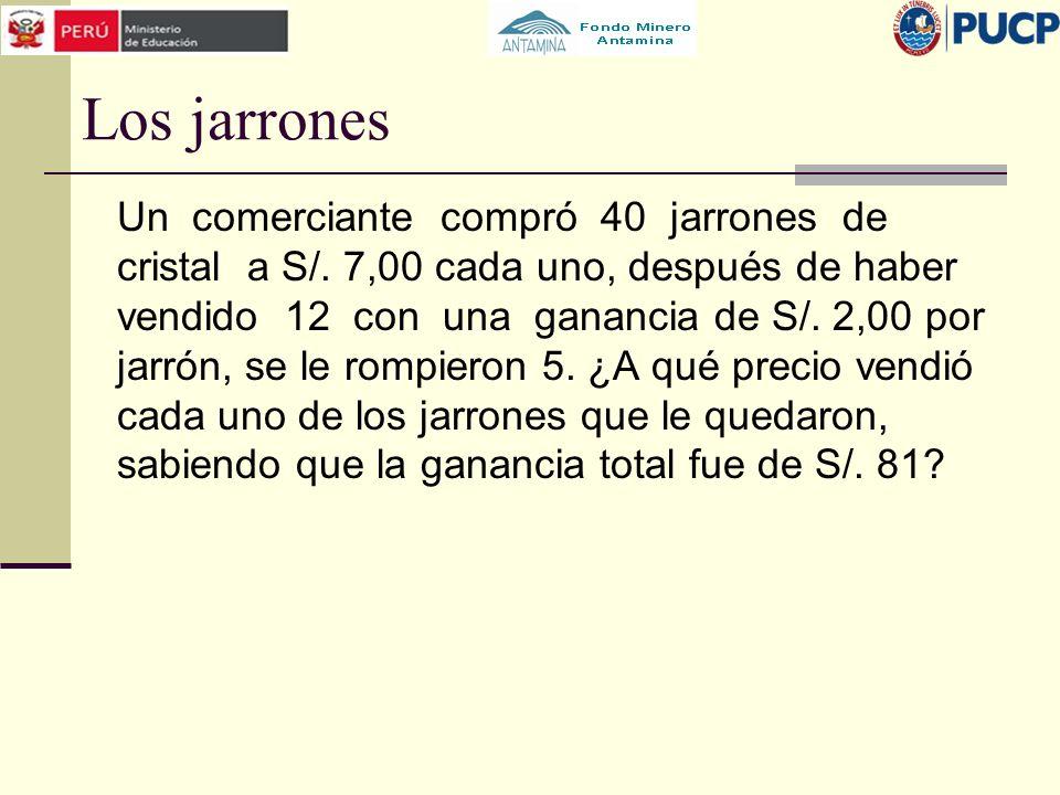 Los jarrones