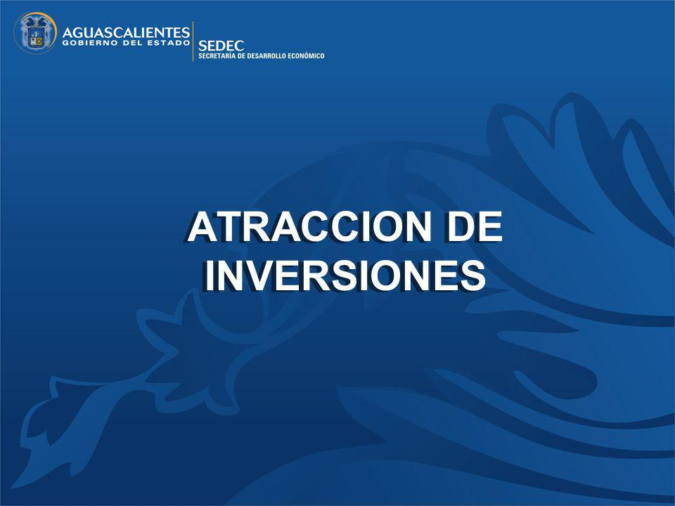 ATRACCION DE INVERSIONES