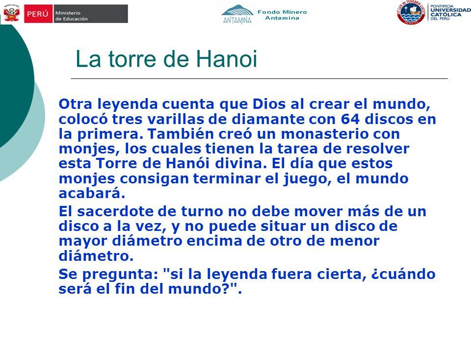 La torre de Hanoi