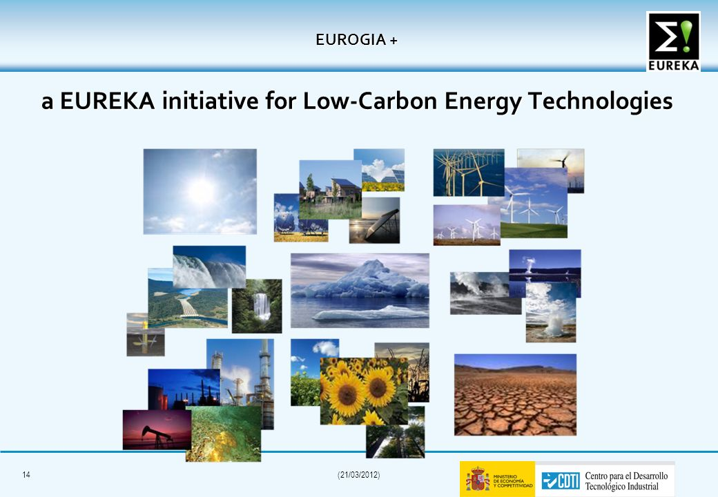 EUROGIA + a EUREKA initiative for Low-Carbon Energy Technologies