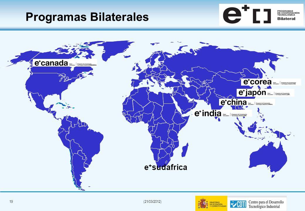 Programas Bilaterales